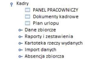 menu Kadry 1